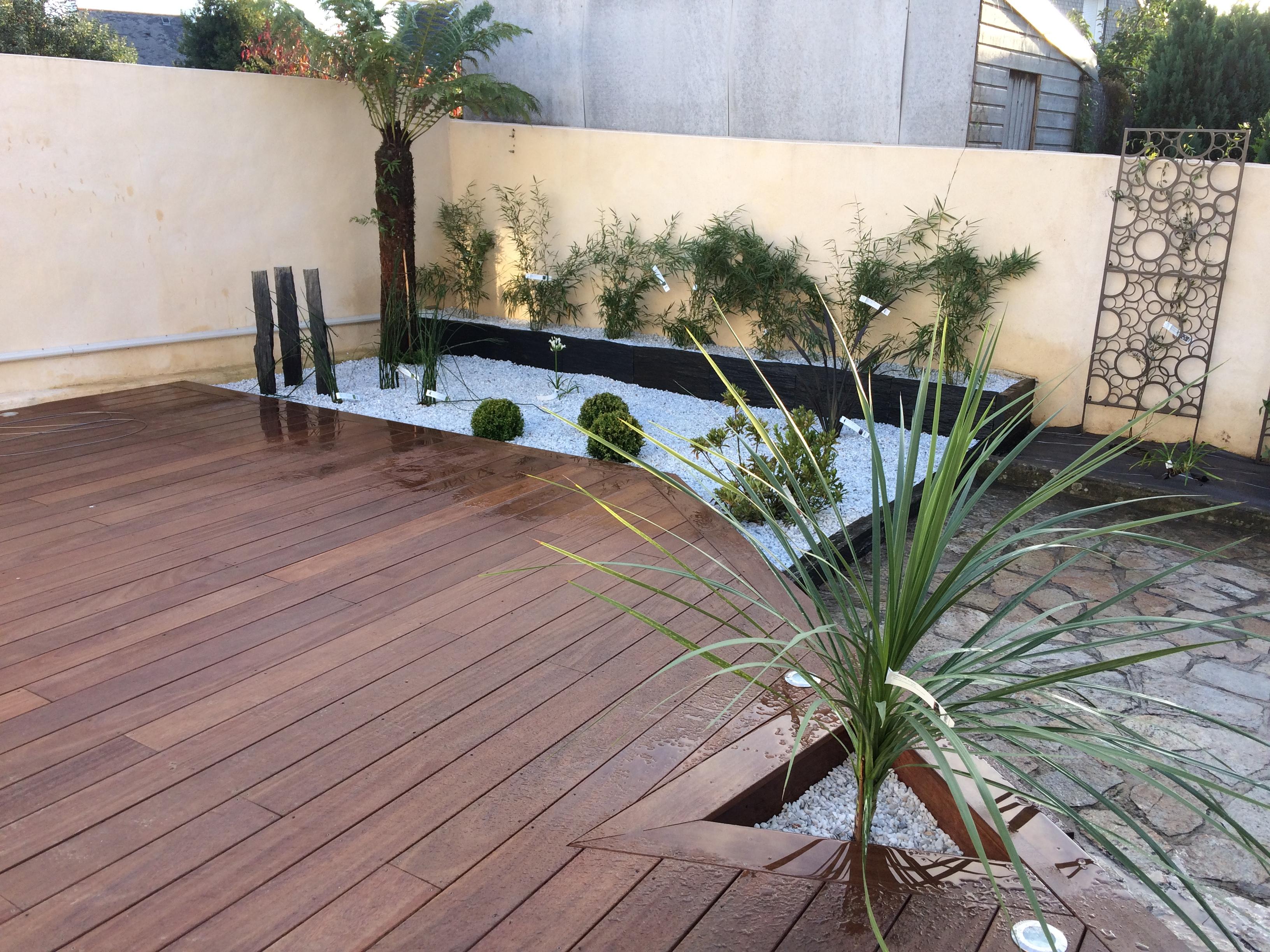 Faites appel à notre professionnalisme pour la création de votre terrasse et jardin !